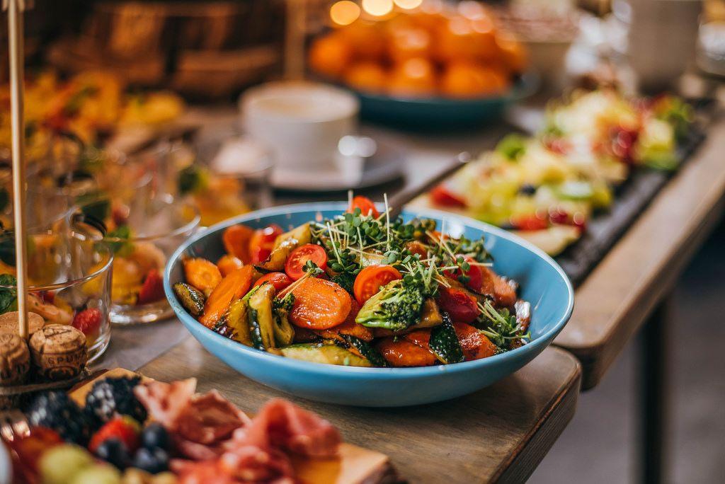 Bowl Of Seasoned Vegetables