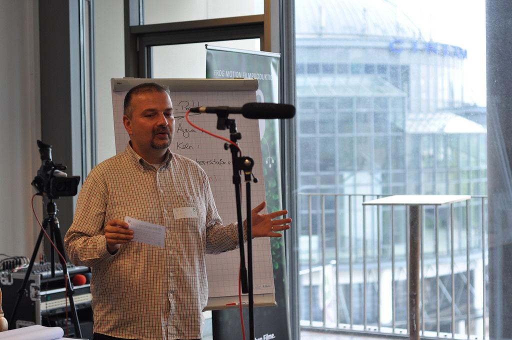 BrainCamp Cologne: Vorstellungsrunde