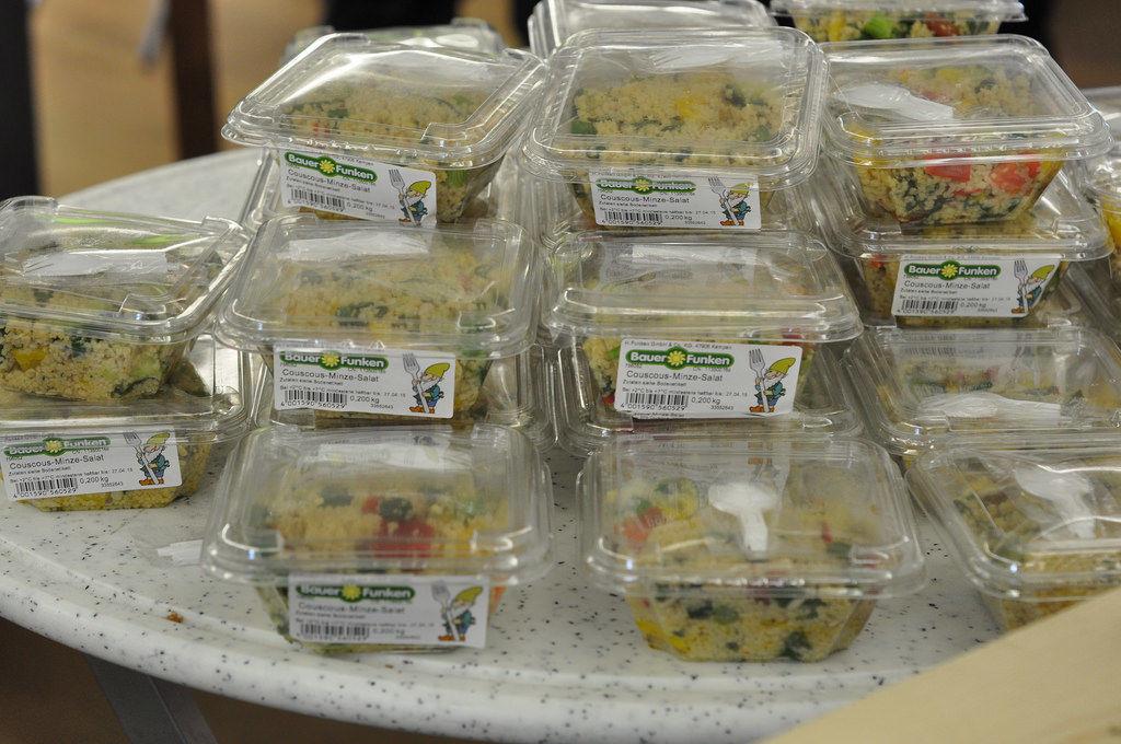 BrainCamp: Mittagessen