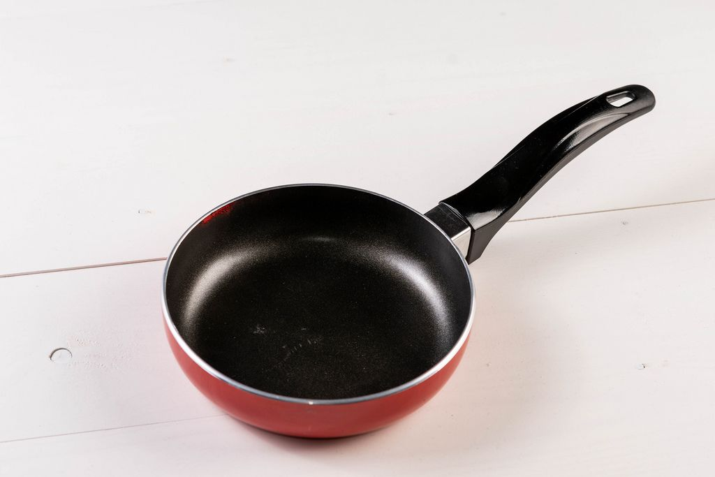 Brand new red Frying Pan