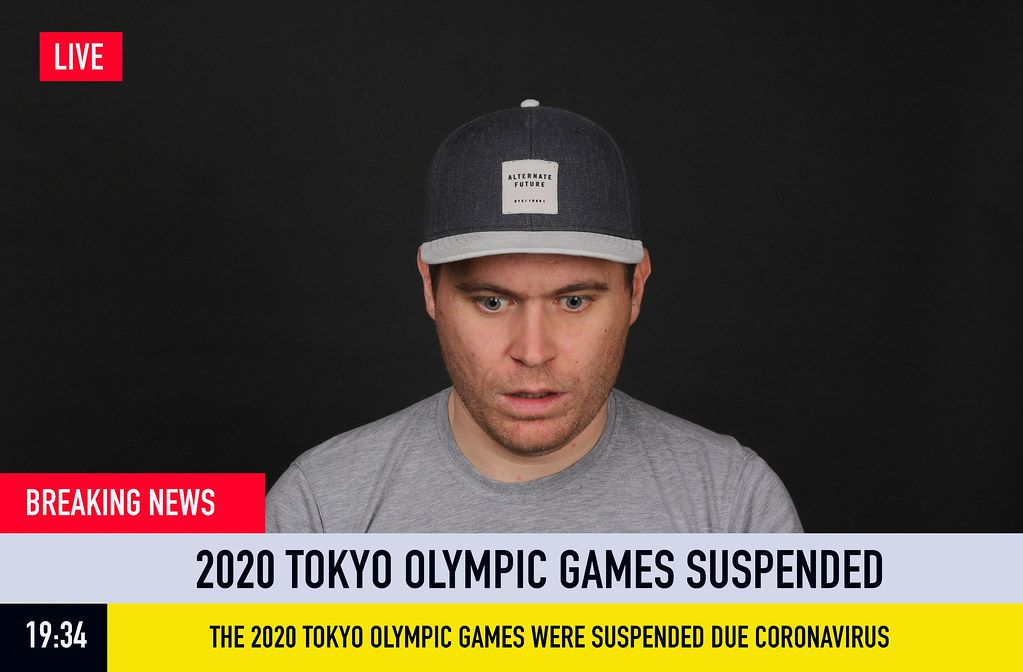 Breaking News: 2020 Tokyo Olympic Games Suspended