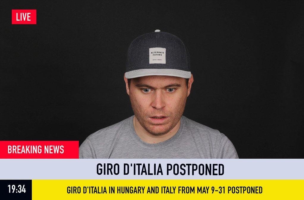 Breaking News: Giro D'Italia Postponed