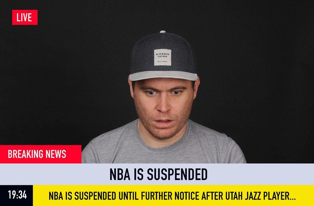 Breaking News: NBA is Suspended