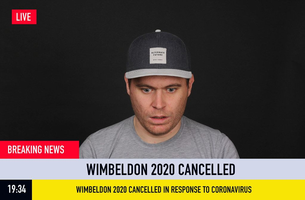 Breaking News: Wimbeldon 2020 Cancelled