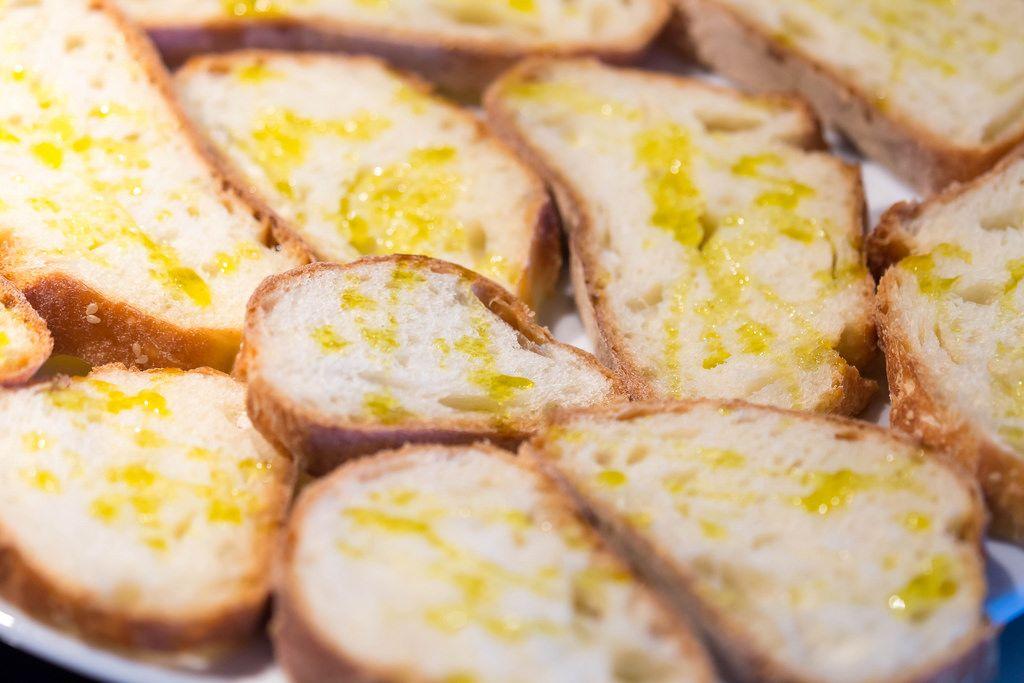 Brot mit Öl