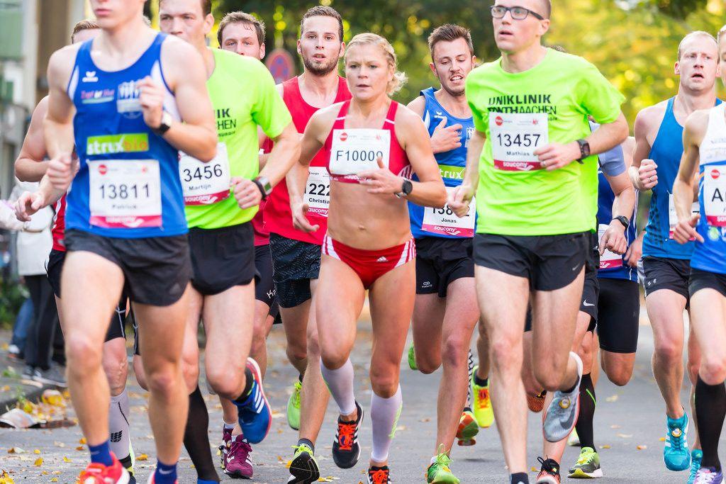 Brucker Patrick, Hofman Martijn, Hähnle-Pohl Veronica Clio, Thaeter Mathias - Köln Marathon 2017