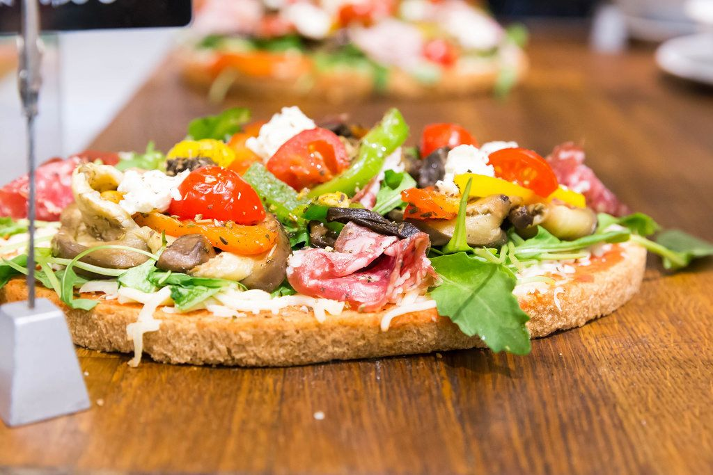 Bruschetta Speciale: every day a new and tasty creation
