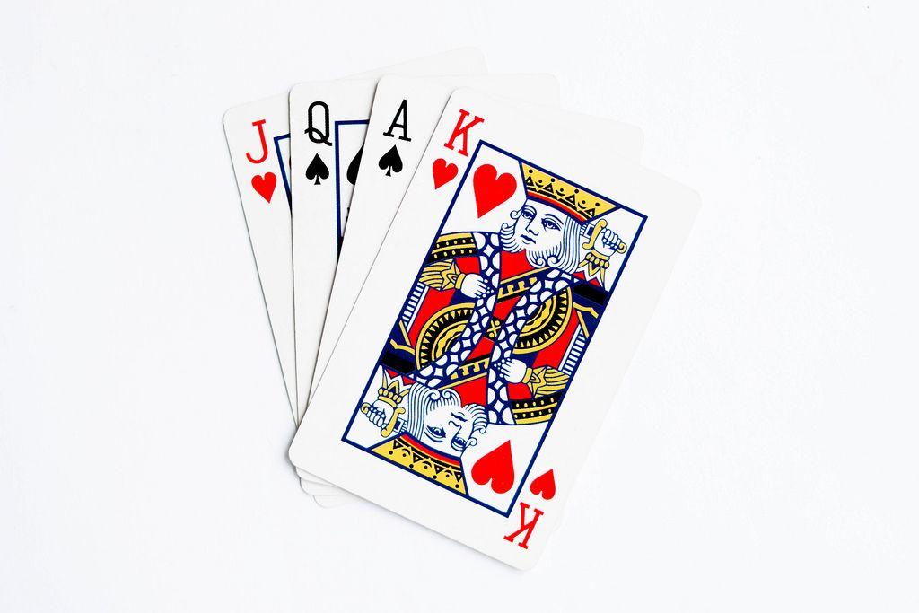 Spielkarten Hintergrund