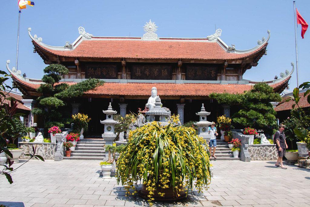 Buddhist Temple Entrance  (Flip 2019)
