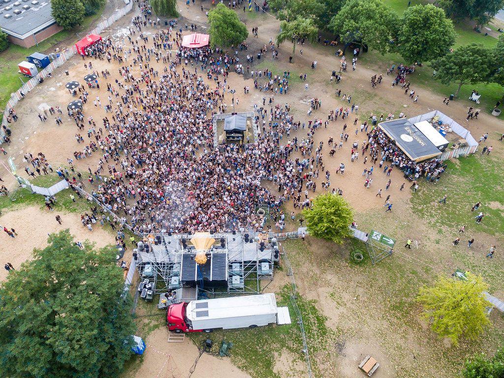 Bühne auf Springinsfeld Festival 2017