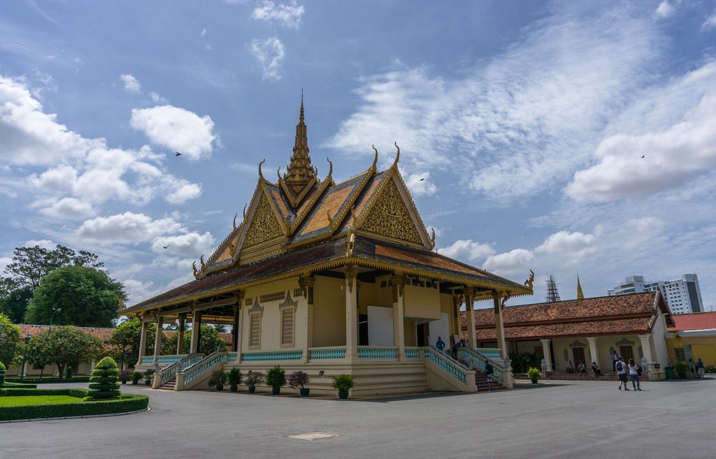 Building at the Royal Palace Complex in Phnom Penh