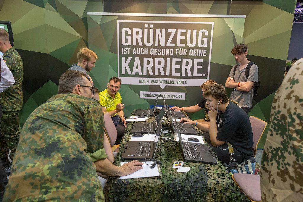 Bundeswehrstand auf der Gamescom 2019