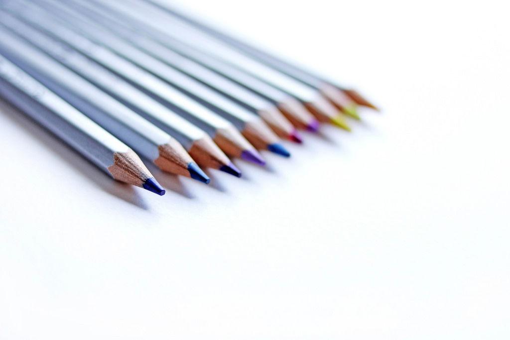 Buntstifte (engl. Colour Pencils)