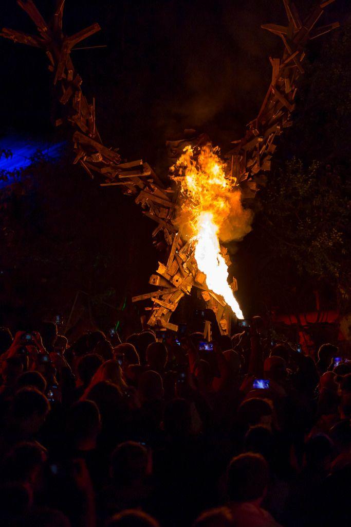 Burning Man must burn