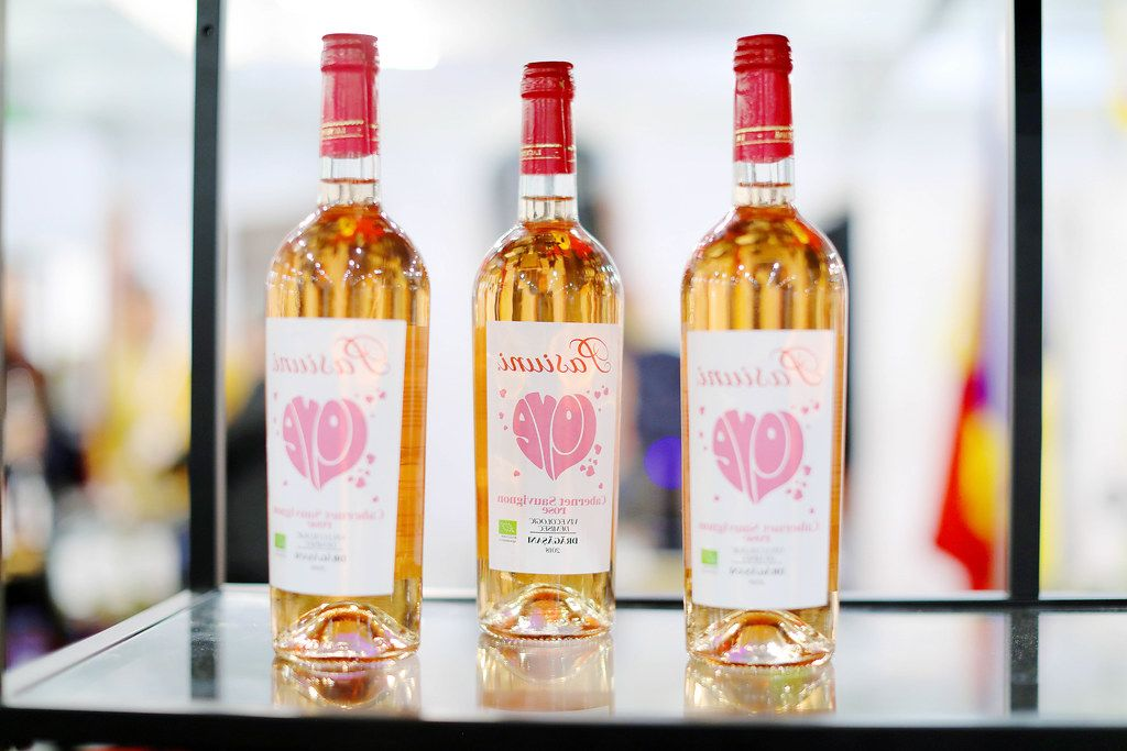 Cabernet Sauvignon Rose, Romanian wine at GoodWine wine fair (Flip 2019)