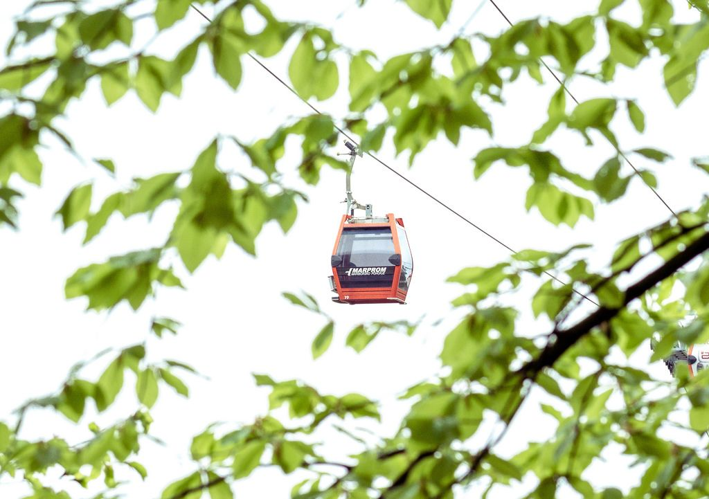 Cable Car in Maribor Pohorje