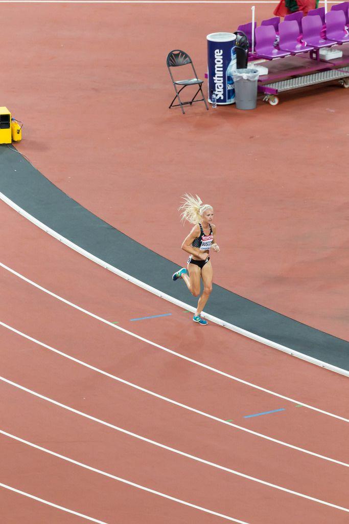 Camille Buscomb (10.000 Meter Lauf) bei den IAAF Leichtathletik-Weltmeisterschaften 2017 in London