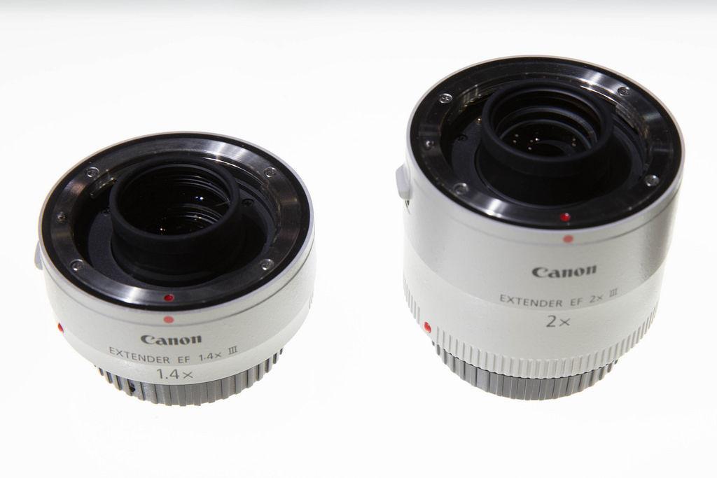 Canon Extender: 1.4x und 2.0x