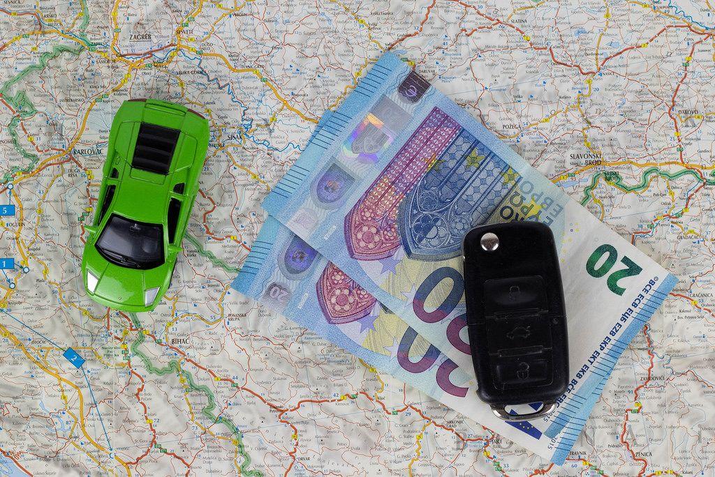 Car rental concept