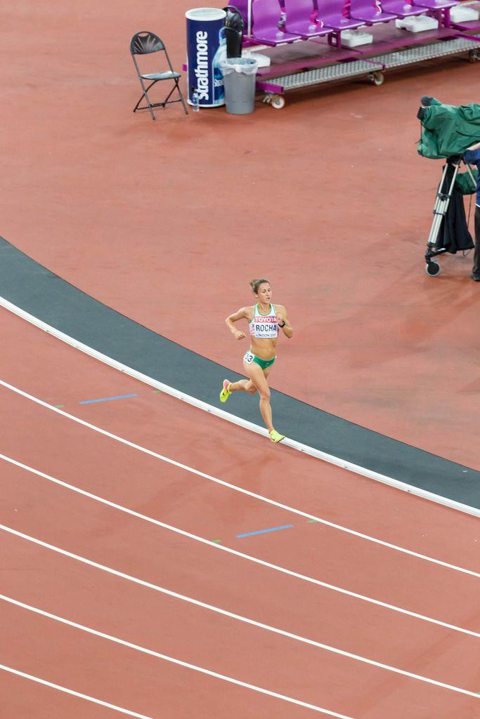 Carla Salomé Rocha (10.000 Meter Lauf) bei den IAAF Leichtathletik-Weltmeisterschaften 2017 in London