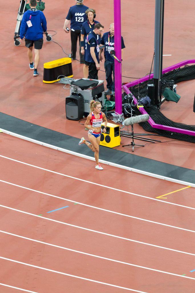 Carmen Patricia Martinez (10.000 Meter Lauf) bei den  IAAF Leichtathletik-Weltmeisterschaften 2017 in London