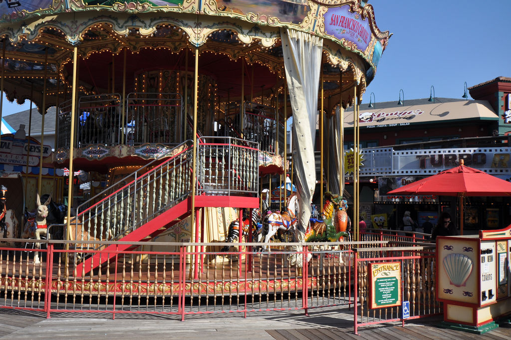 Carousel / Karussell at Fisherman's Wharf, San Francisco