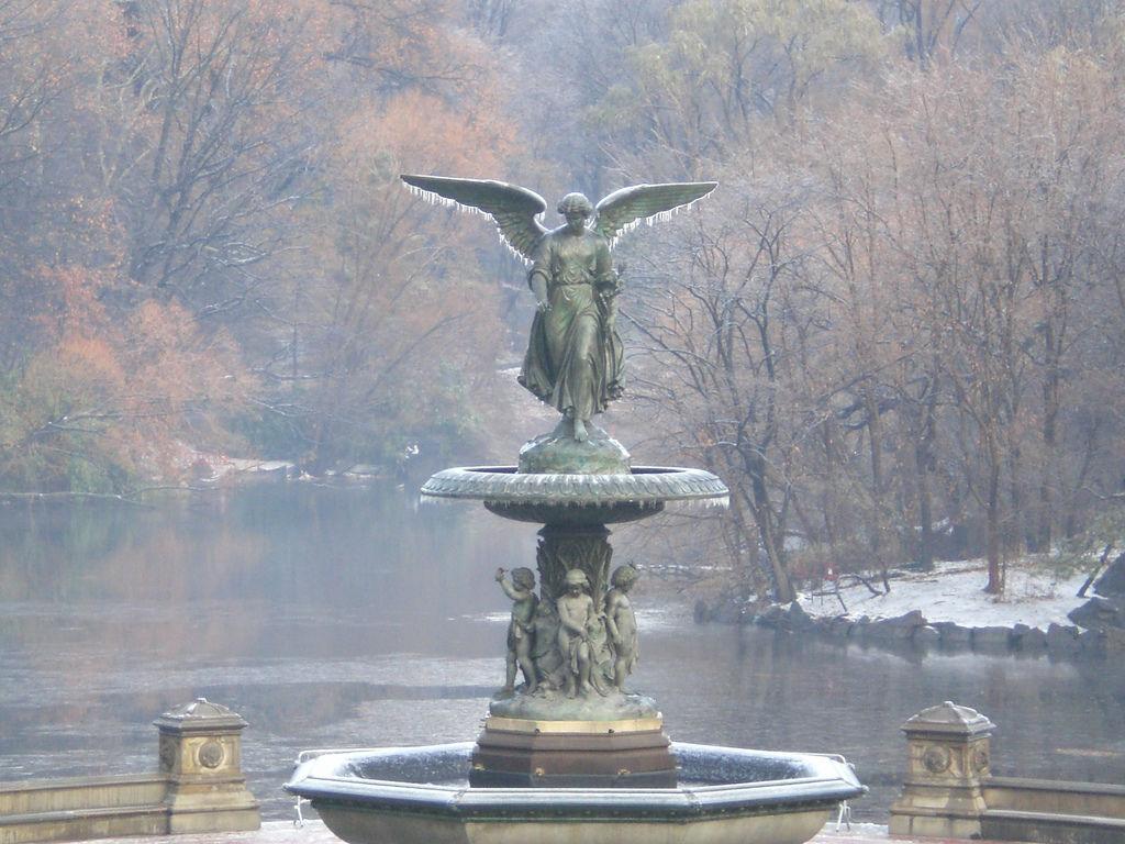 Central Park Statue