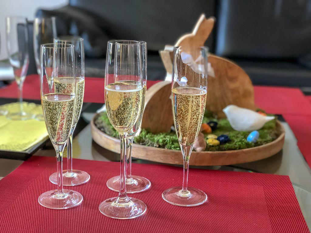 Champagner zu Ostern