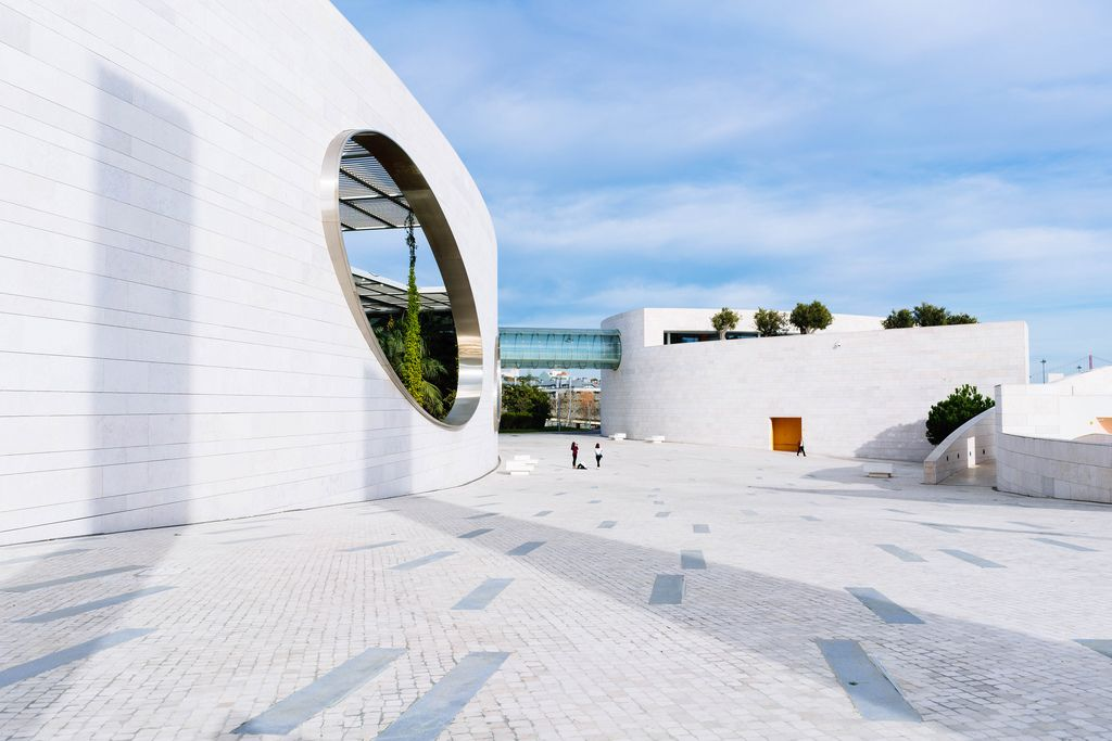 Champalimaud Foundation campus in Lisbon