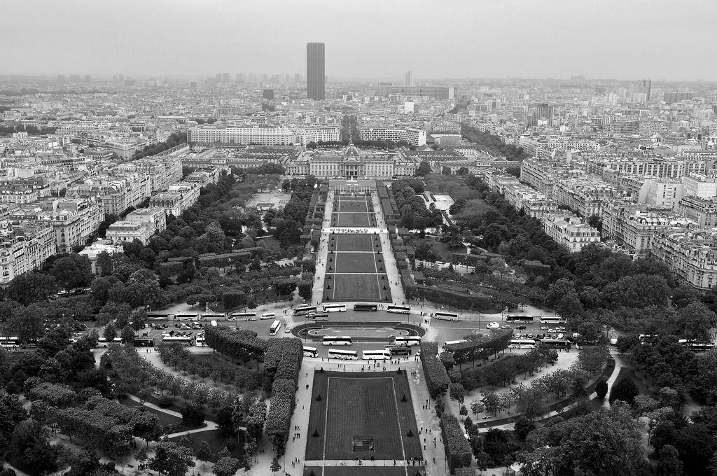 Champs de Mars und École Militaire in Paris