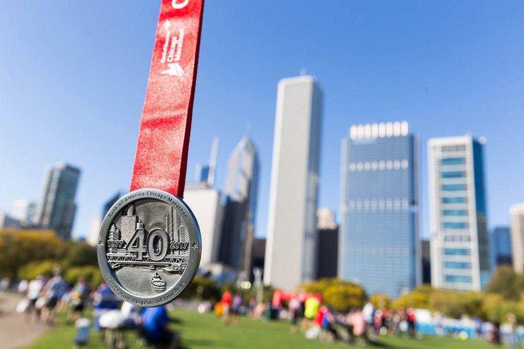 Chicago Marathon 2017 medal