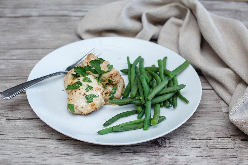 chicken and green bean  (Flip 2019)