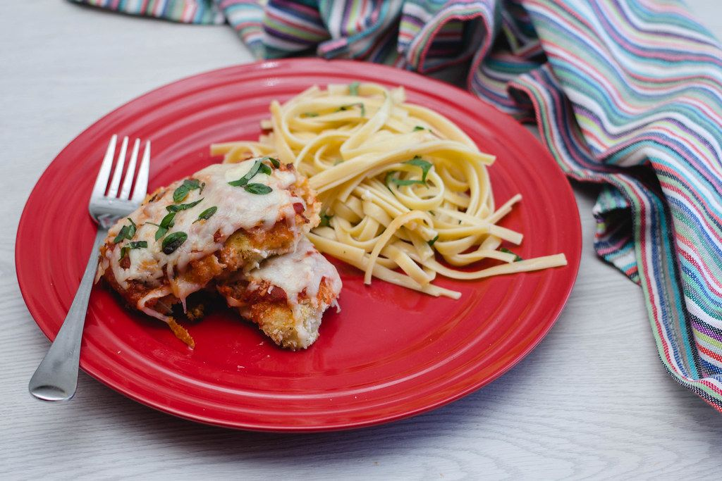 chicken parmagiani with pasta (Flip 2019)