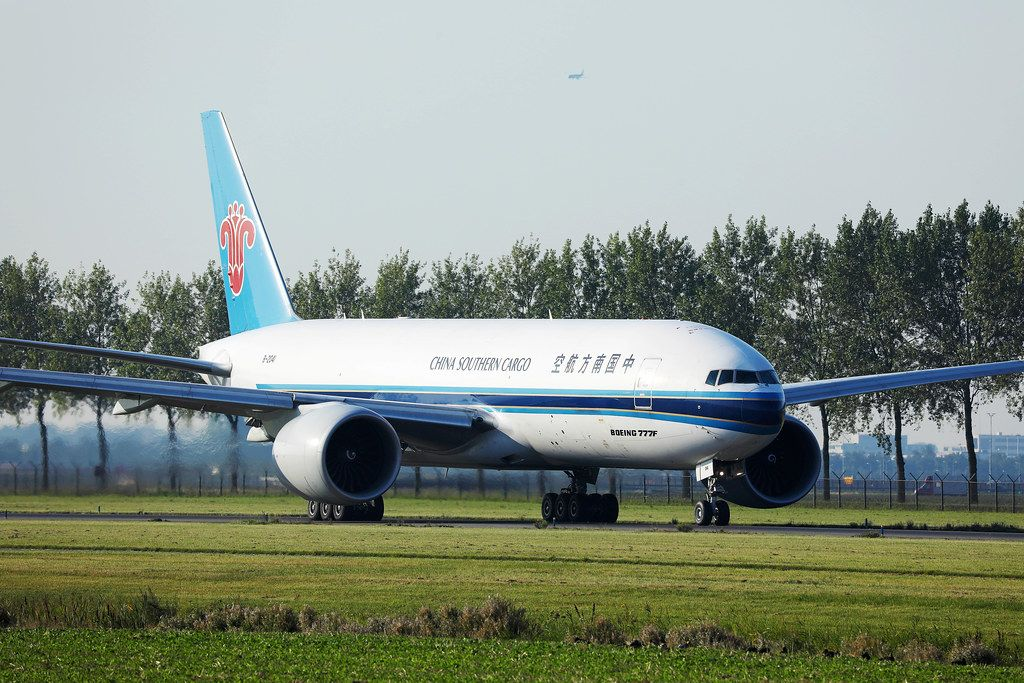 China Southern Cargo at Amsterdam Airport