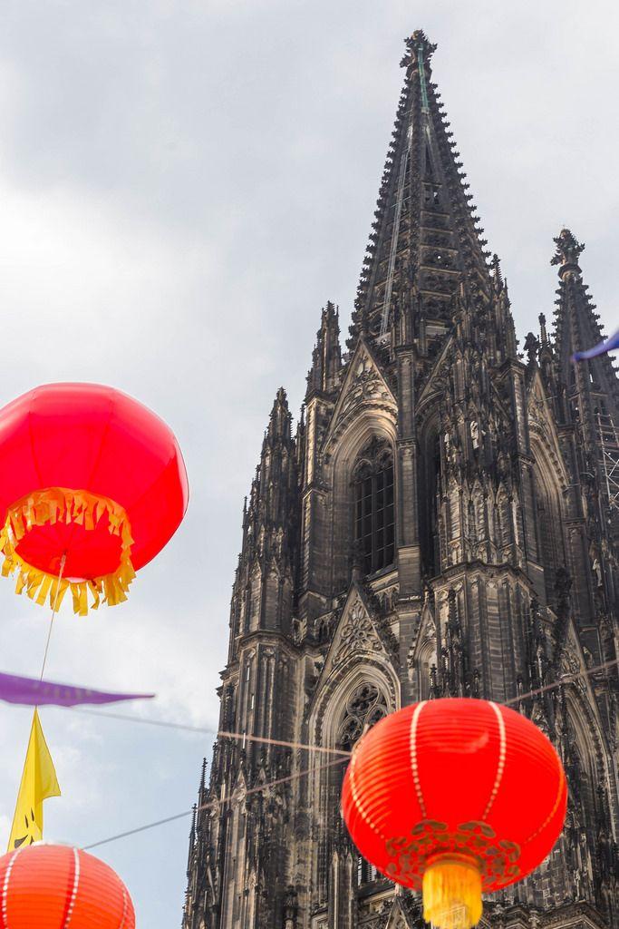 Chinafest 2017 vor dem Kölner Dom