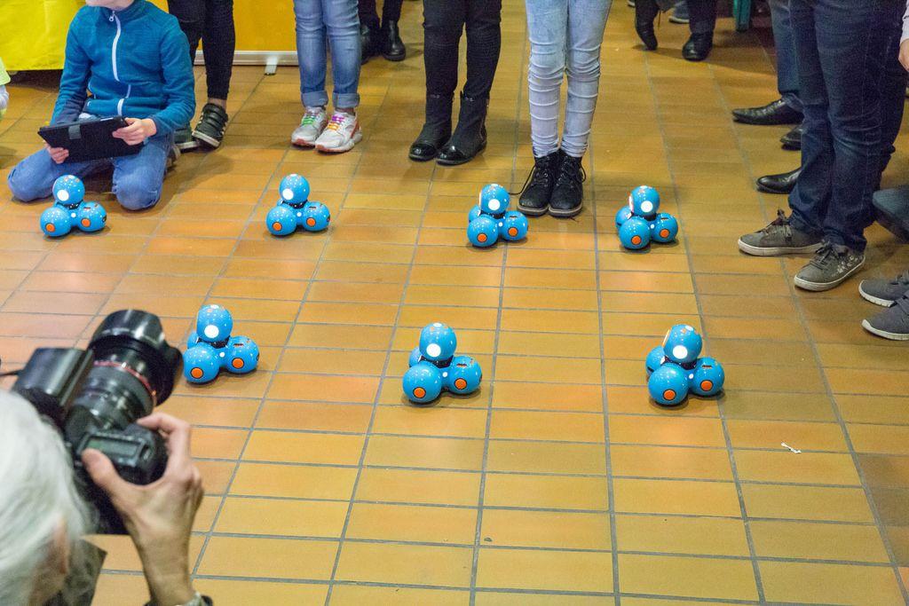 Choreographie mit Dash-Robotern