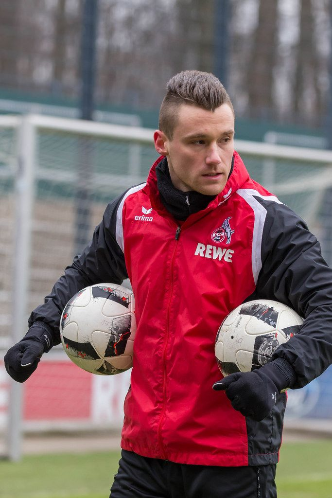 Christian Clemens nach dem Training