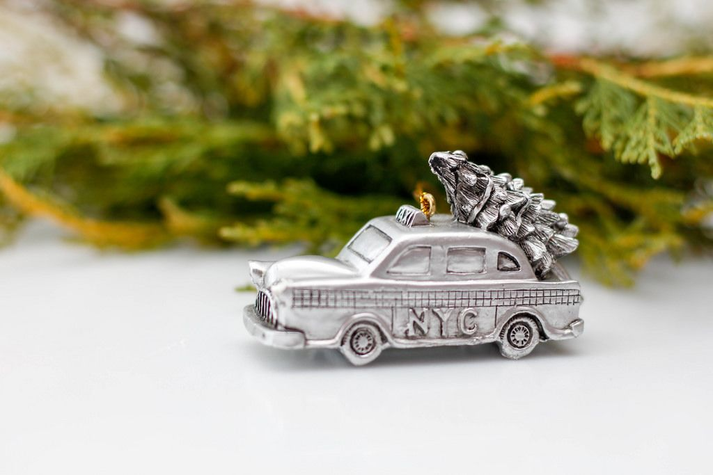 Christmas New-York Taxi Ornament