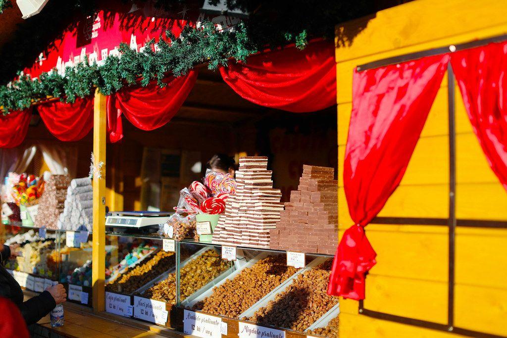 Christmas sweets at Sibiu Christmas market