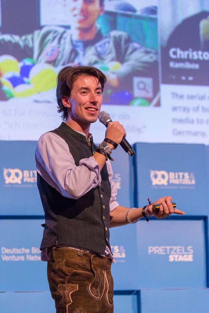 Christopher Obereder - Forbes at the Bits & Pretzels Festival 2018
