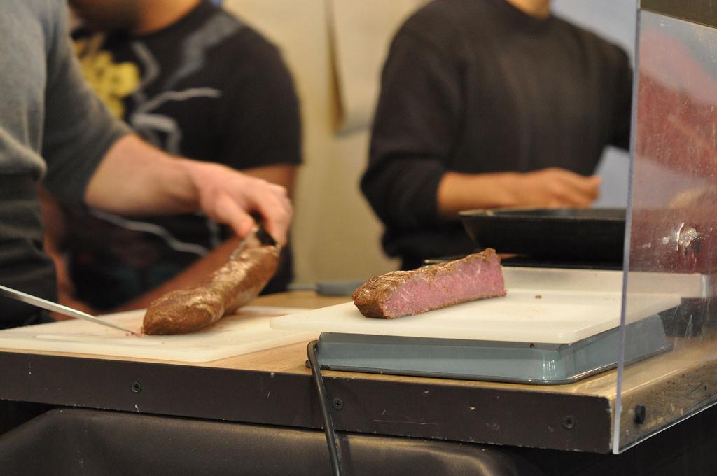 Cidre Steak auf Street Food Festival