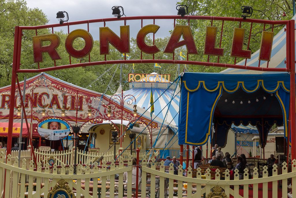 Circus Roncalli at Neumarkt in Cologne