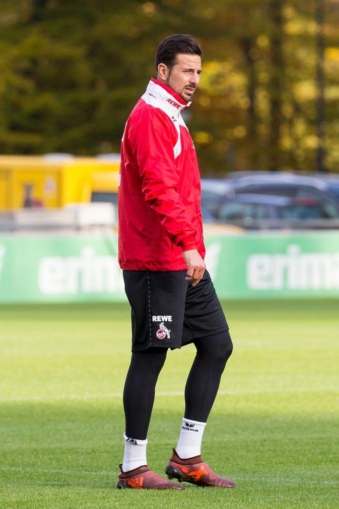 Claudio Pizarro during training on the 13.11.2017