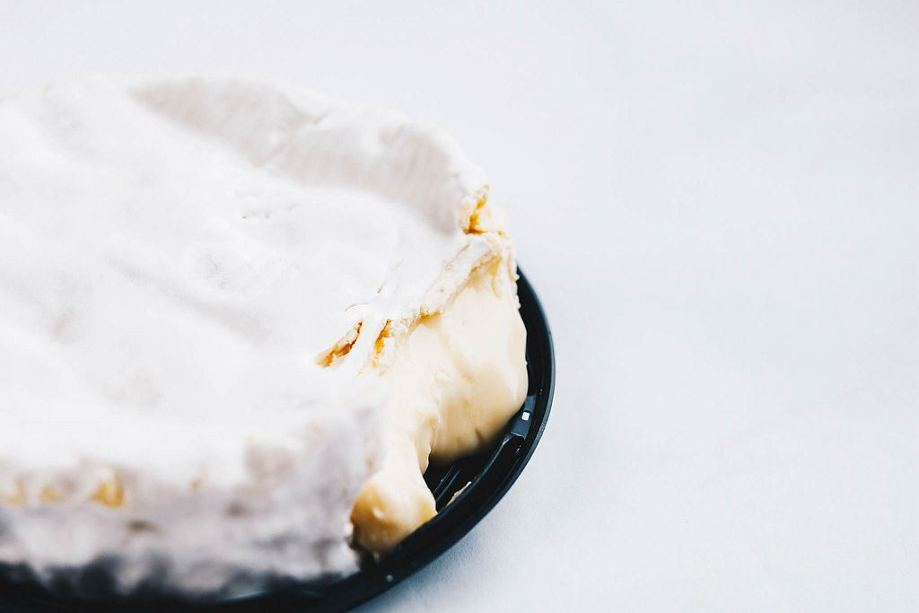 Close up of camembert cheese