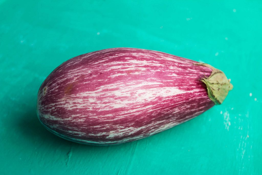 Close up of eggplant
