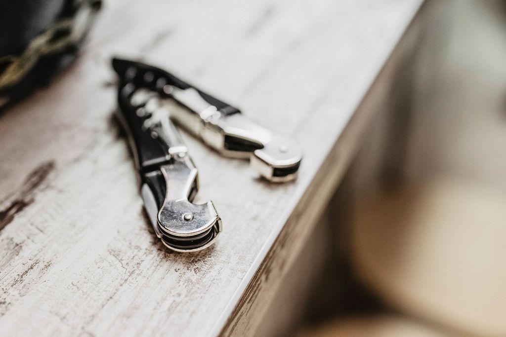 Close up of pocket knife