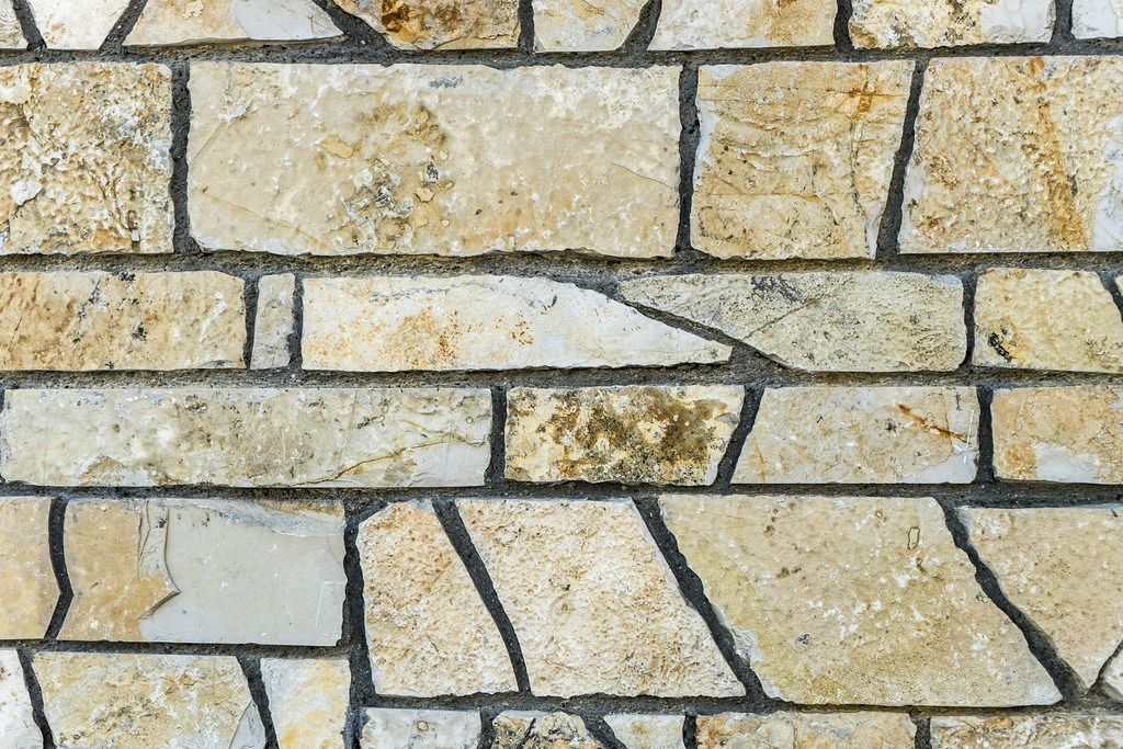 Close Up on the Stone Wall