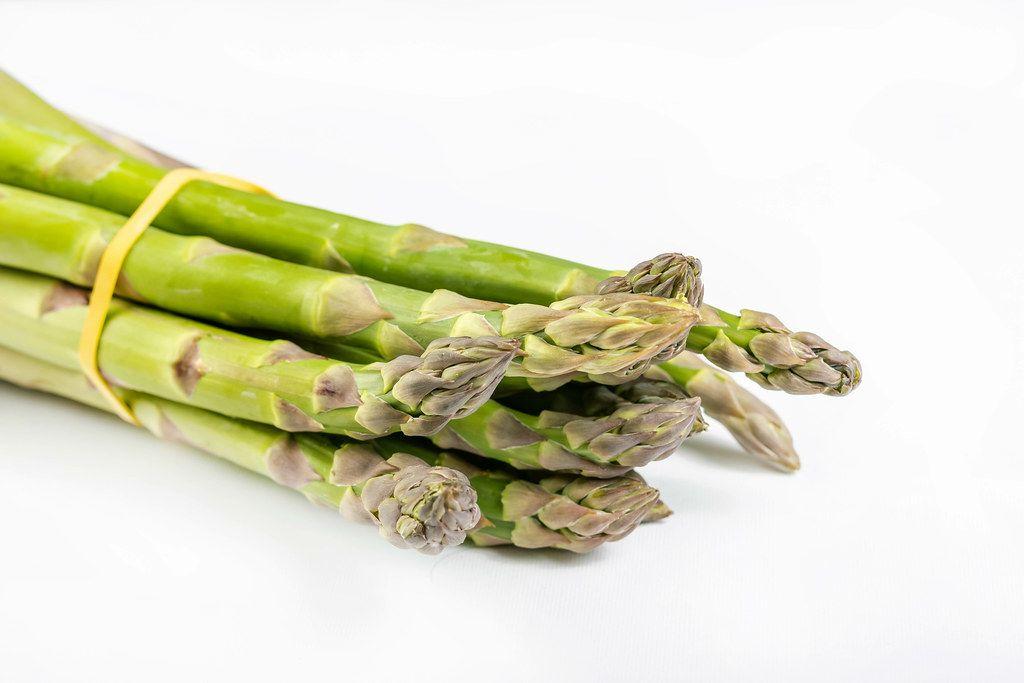 Closeup of Fresh Green Asparagus (Flip 2019)