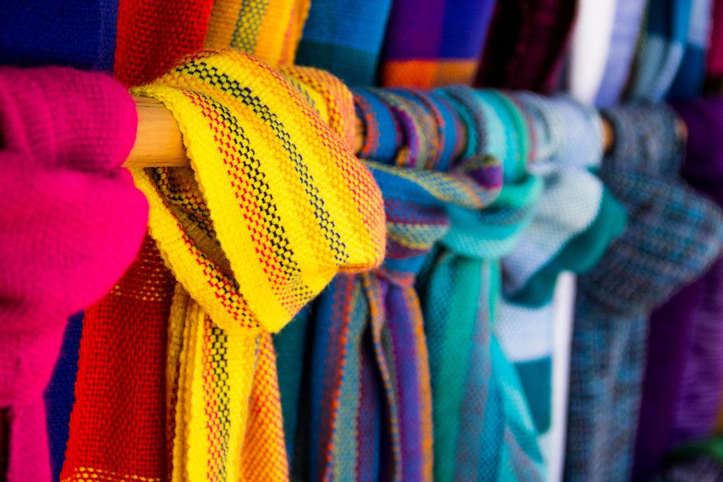 Closeup of Typical Scarfs