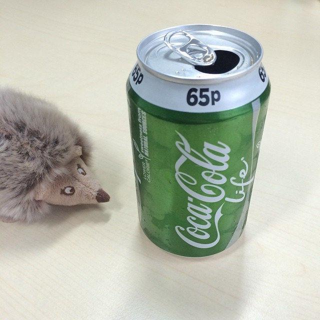 Coca Cola life #nomnom #stevia #fitness #coke #wuestenigel #yummy #happy